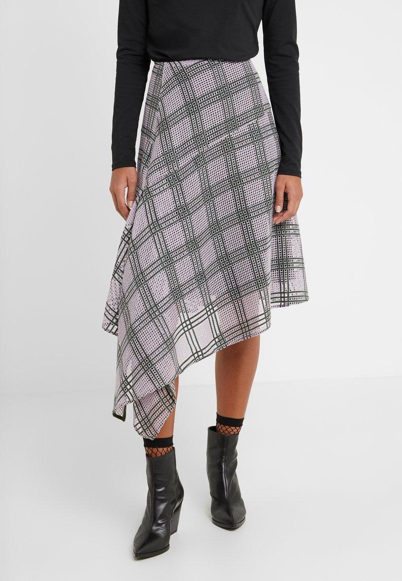 By Malene Birger - TOLMEZZO - A-line skirt - cool lavender
