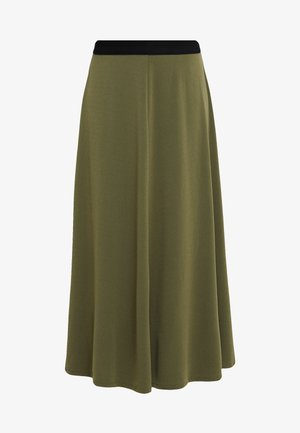 ANABEL - A-line skirt - winter moss