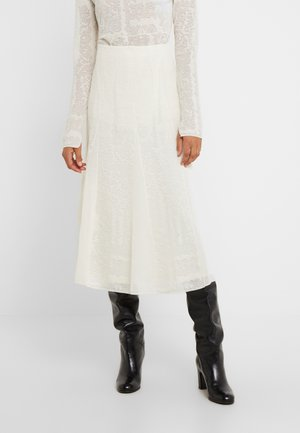 KELISSA - A-linjainen hame - soft white