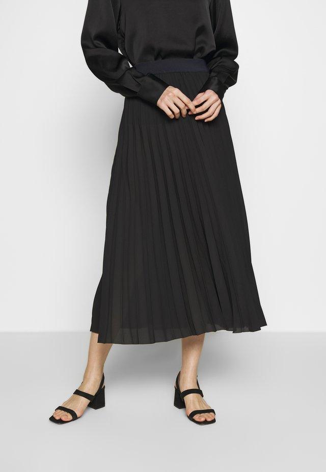 PALMAH - A-line skirt - black