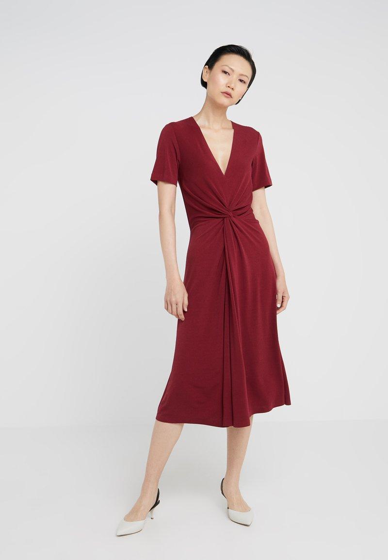 By Malene Birger - PRICILLA - Vestido ligero - cabernet