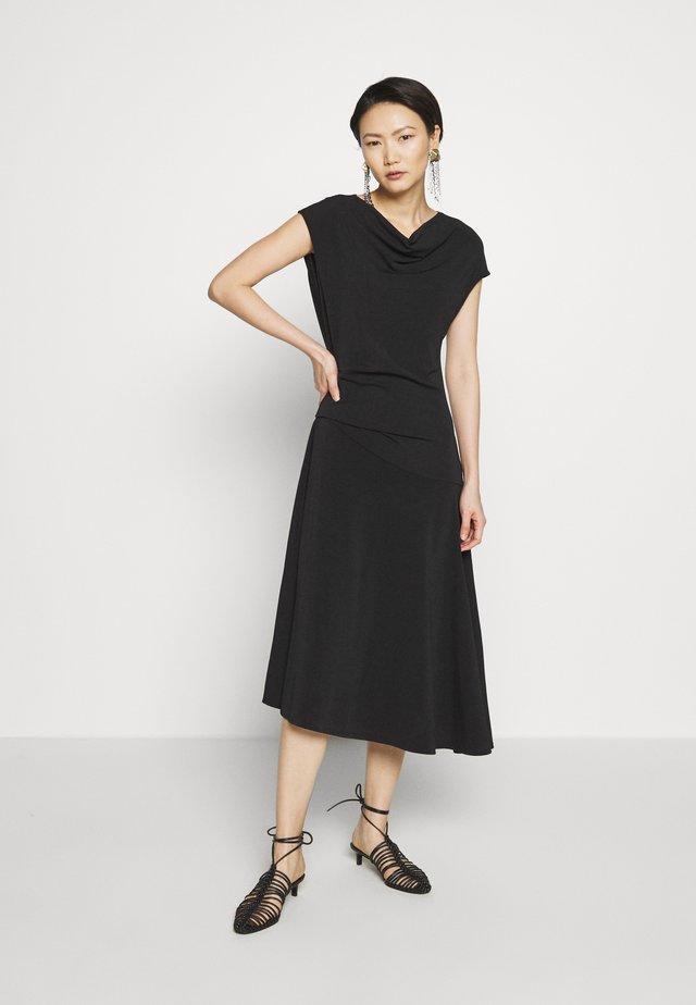AIDIA - Jersey dress - black