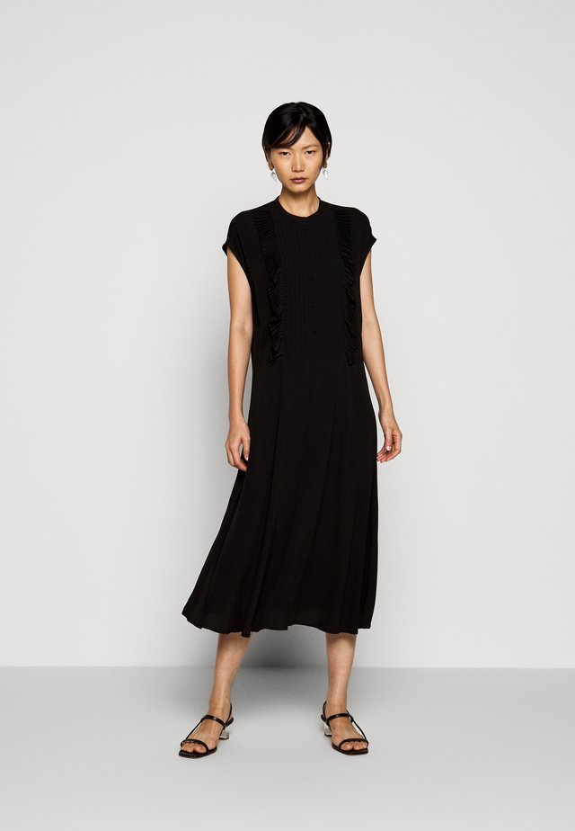 FERRARIA - Shirt dress - black