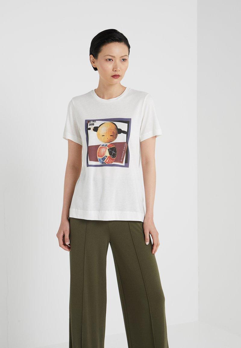 By Malene Birger - FAIRY - T-Shirt print - soft white
