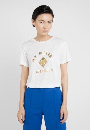 ELULA - T-shirt print - soft white