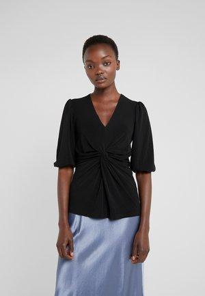 BRIZZA - Maglietta a manica lunga - black