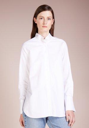 LEIJAI - Button-down blouse - pure white