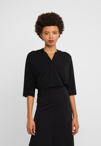 By Malene Birger - BIJANA - T-shirt basic - black - 0