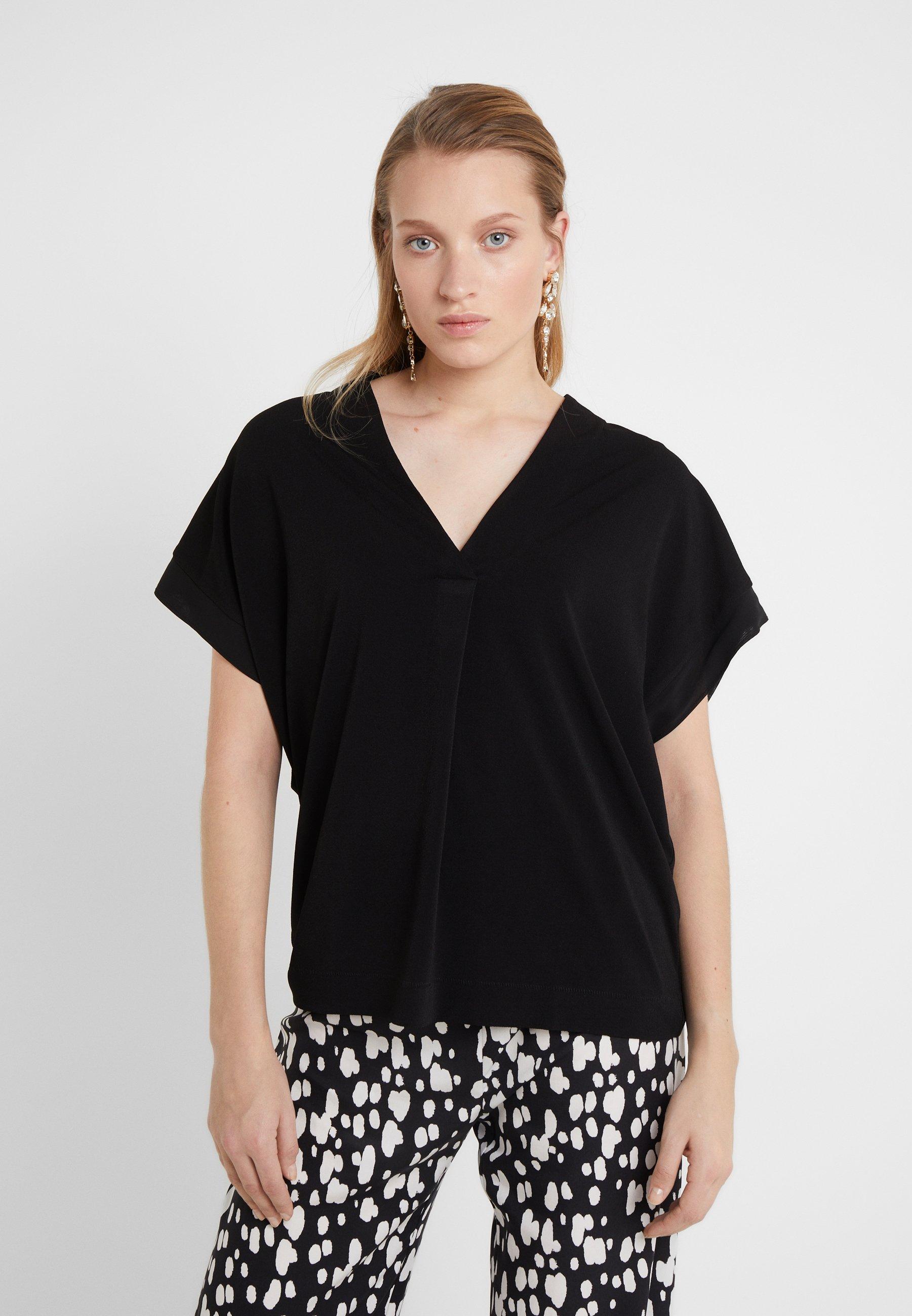 By Malene Birger OLIVERZA - T-shirts med print - black