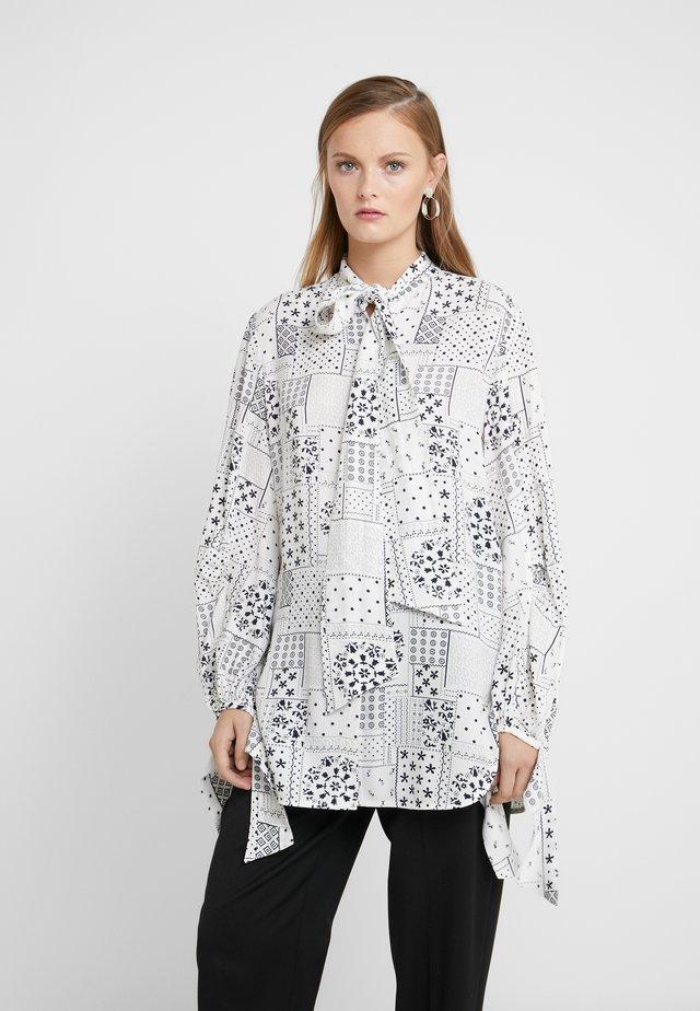 CAMUTO - Button-down blouse - soft white