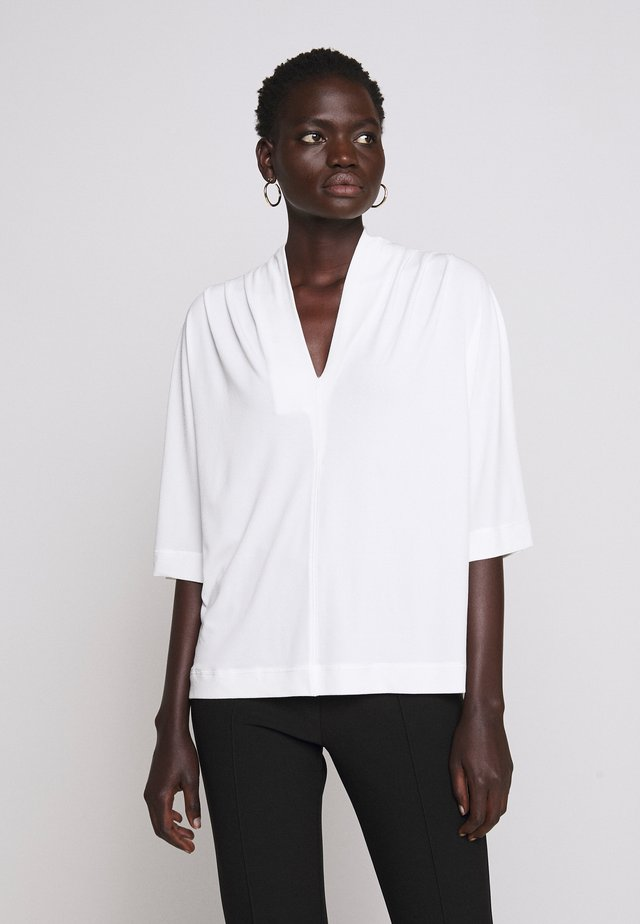 BIJANA - Long sleeved top - soft white