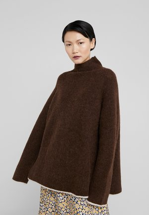 ELLISON - Strikpullover /Striktrøjer - warm brown
