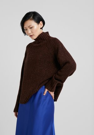 VANESA - Strickpullover - warm brown