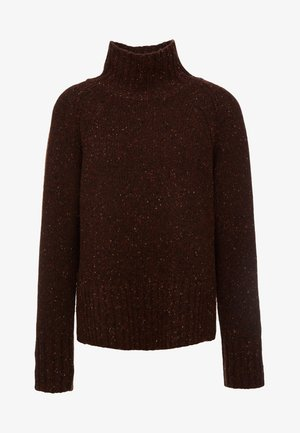 VANESA - Strikpullover /Striktrøjer - warm brown