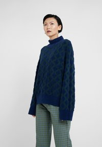 By Malene Birger - NATALYA - Strickpullover - tent green - 0