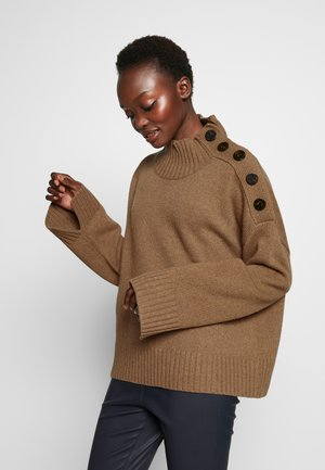 KERRIA - Pullover - tiger eye