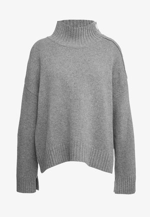KERRIA - Strickpullover - medium grey melange