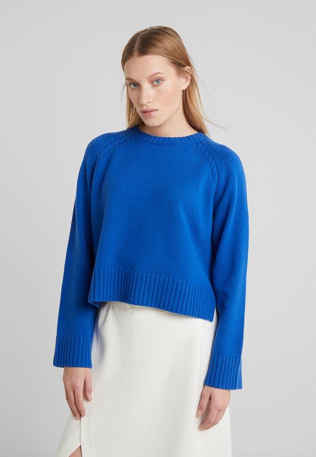 ALVIA - Stickad tröja - cobalt