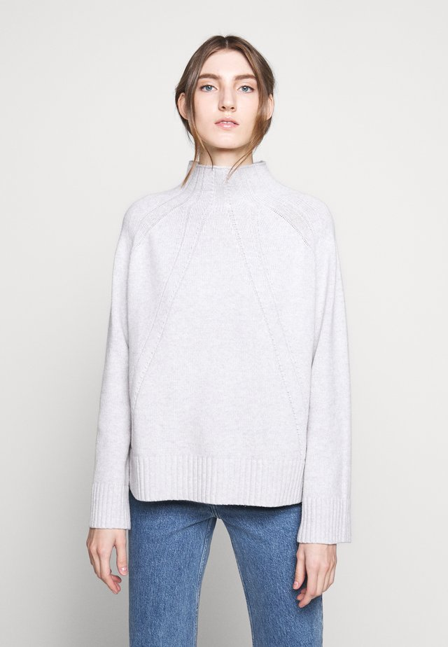 BEGONIA - Strickpullover - light grey melange