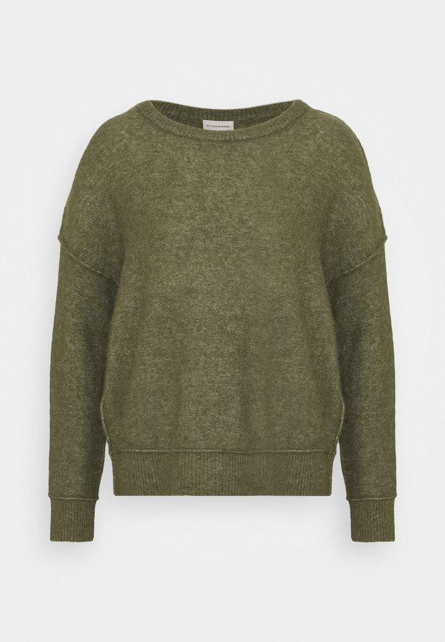 BIAGIO - Stickad tröja - winter moss