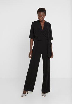 ZHOU - Tuta jumpsuit - black