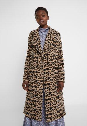 BELLOA - Classic coat - tiger eye