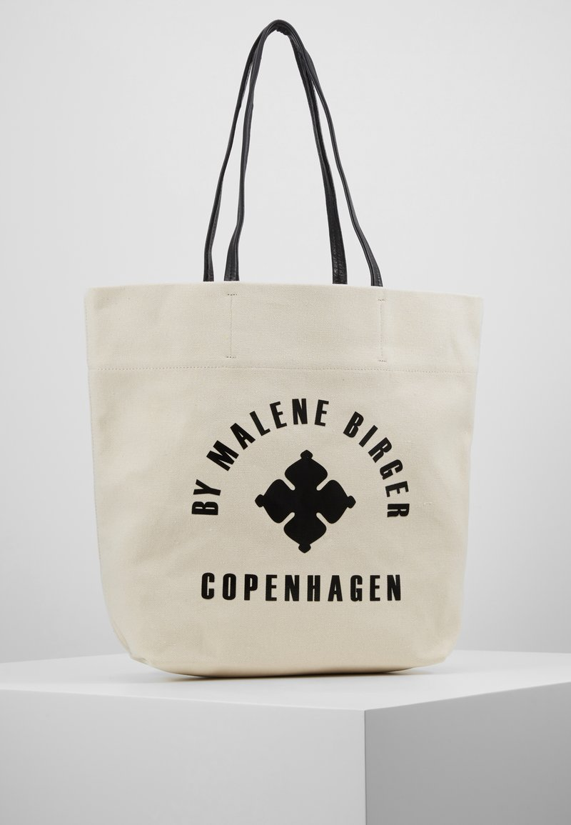By Malene Birger - FLORA TOTE - Shopping bag - soft white