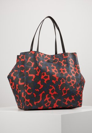 LEO TOTE - Shopping bags - red