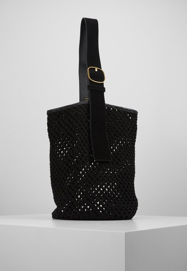 LIV BUCKET - Handtasche - black solid