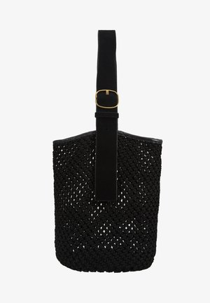 LIV BUCKET - Handbag - black solid