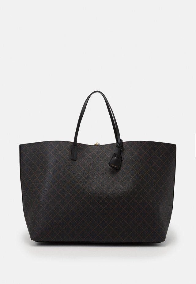 ABI LARGE - Shopping Bag - dark chokolate