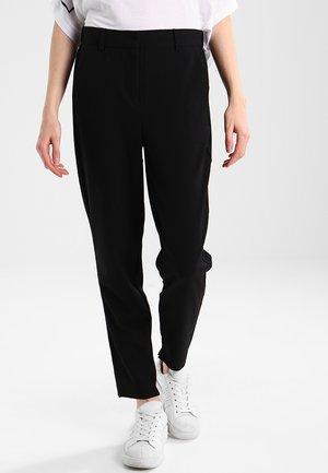 DANTA PANTS CROP  - Trousers - black