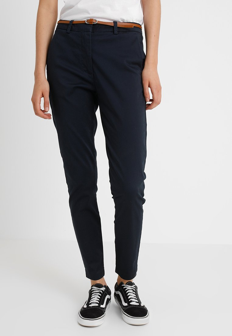 b.young - DAYS CIGARET PANTS  - Chinos - copenhagen night