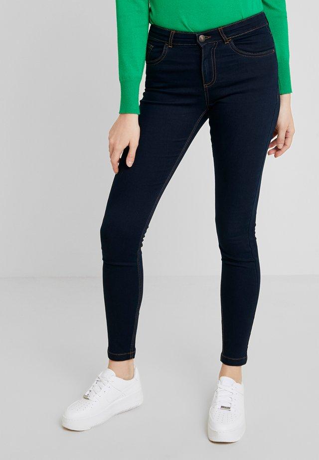 BYLOLA BYLIKKE - Jeans Skinny Fit - dark blue denim