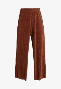 b.young - PILINE PANTS - Kalhoty - dark copper - 4