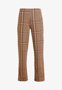 b.young - BXSTILLA WIDE PANTS - Pantalon classique - combi golden toffee - 4