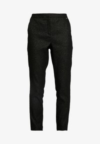 b.young - BYDAVA PANTS - Trousers - black combi