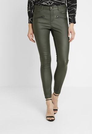 BYLOLA BYKIKO DECO ZIP - Broek - peat green