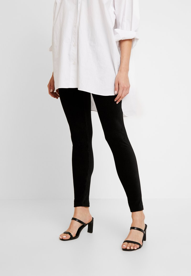b.young - BYPONSA - Leggings - Trousers - black