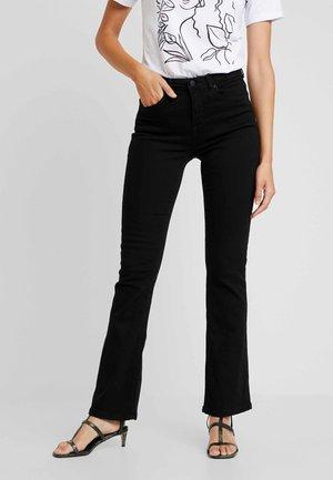 BYLOLA BYLUNI MINI FLARE - Flared Jeans - black