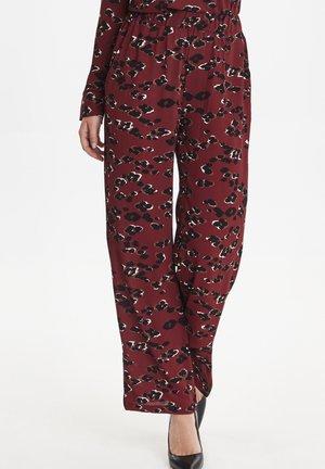 BXILSOX - Spodnie materiałowe - red