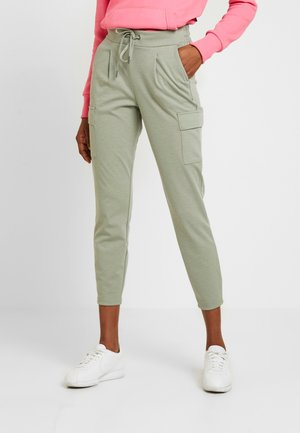 RIZETTA CARGO PANTS - Pantaloni sportivi - meliert sea green