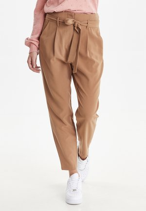 BYDANTA - Trousers - camel