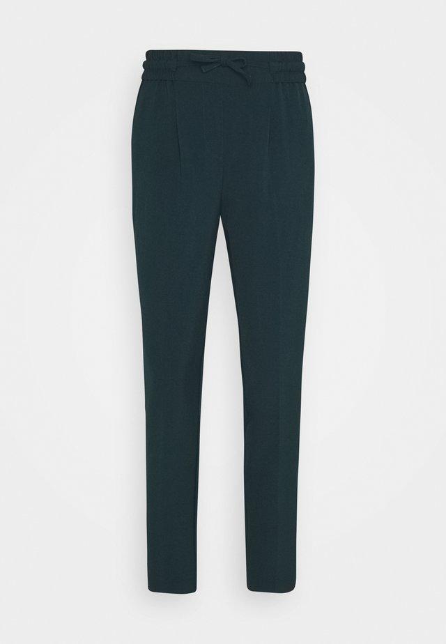 STRING PANTS  - Trousers - deep teal