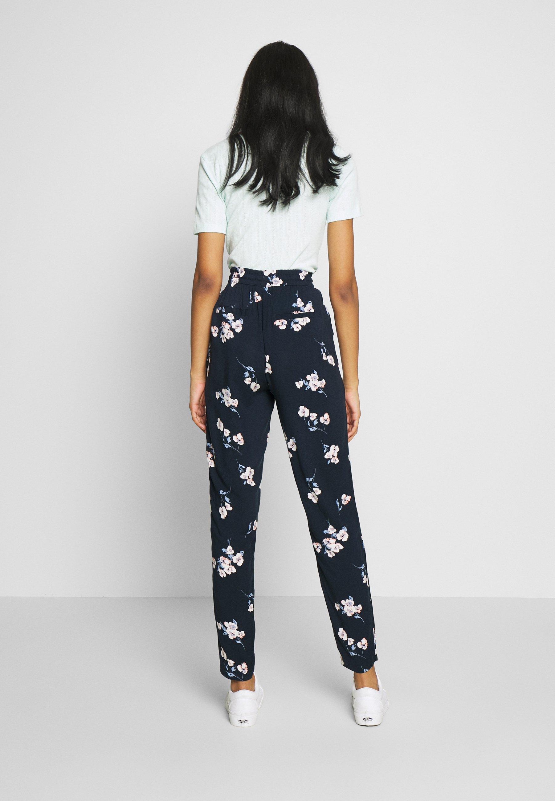 b.young BYISOLE PANTS - Spodnie materiałowe - dark blue