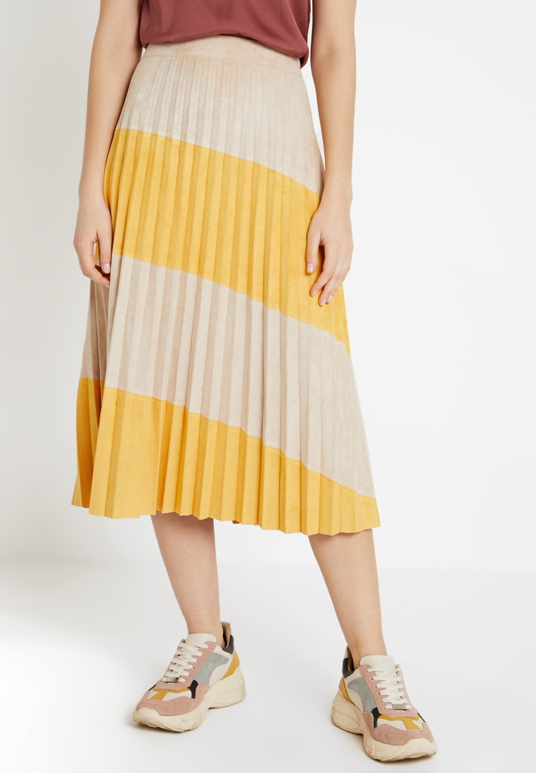 b.young - SKIRT - A-line skirt - golden glow