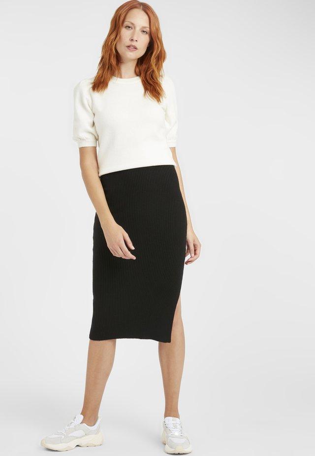 BYMALTO SKIRT - Pencil skirt - black