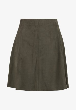 RILMA SKIRT - A-linjainen hame - olive night