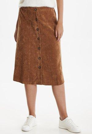 BXELEXIA - A-snit nederdel/ A-formede nederdele - camel