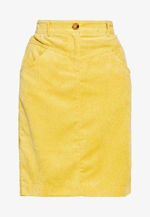 BYELIN SKIRT - - Pouzdrová sukně - cornsilk